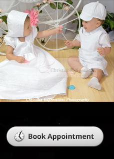 christening outfits by appointment